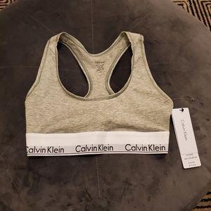 Calvin Klein Unlined Bralette XS NWT